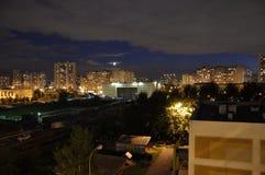 De nacht Stock Foto's