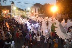 De Nacht Carnaval 2017 van Semarang Stock Afbeelding