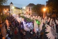 De Nacht Carnaval 2017 van Semarang Royalty-vrije Stock Afbeeldingen