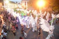 De Nacht Carnaval 2017 van Semarang Royalty-vrije Stock Foto