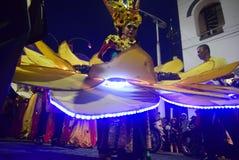 De Nacht Carnaval 2017 van Semarang Stock Afbeeldingen