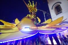 De Nacht Carnaval 2017 van Semarang Royalty-vrije Stock Afbeelding