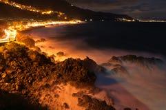 De nacht van Bagnara. Royalty-vrije Stock Fotografie