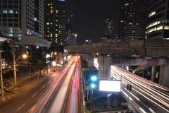 De nacht van Bangkok Royalty-vrije Stock Afbeelding