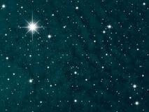 De nacht van de hemel royalty-vrije illustratie