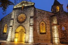 De nacht van de kerk Royalty-vrije Stock Afbeeldingen