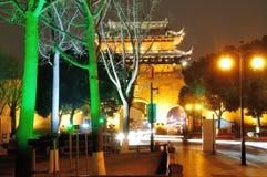 De nacht van de Shantangjiestraat stock foto
