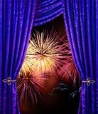 De nacht van de viering royalty-vrije stock afbeeldingen