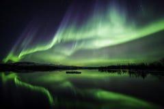 De nacht van de winter Royalty-vrije Stock Fotografie