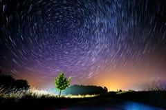 De nacht van de zomer Stock Afbeelding