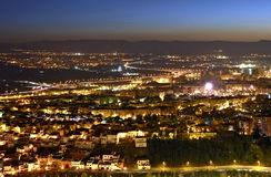 De Nacht van Granada Royalty-vrije Stock Afbeelding