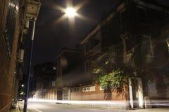 De Nacht van Guangzhou Stock Foto's