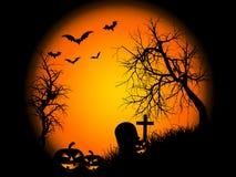 De nacht van Halloween Royalty-vrije Stock Foto