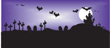 De nacht van Halloween Royalty-vrije Stock Afbeeldingen