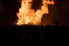 De Nacht van het Hastingsvuur en paradeert 15 Oktober 2017 Royalty-vrije Stock Afbeelding