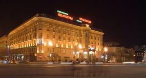 De nacht van het hotel Royalty-vrije Stock Foto's
