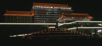 De nacht van het hotel Royalty-vrije Stock Afbeelding