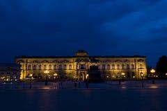 De Nacht van het Museum van Dresden Royalty-vrije Stock Fotografie