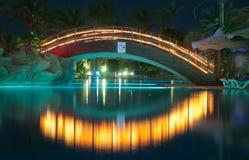 De nacht van het paradijs Stock Afbeeldingen