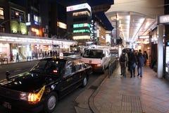 De nacht van Kyoto Royalty-vrije Stock Foto's