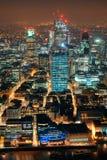 De nacht van Londen royalty-vrije stock afbeelding