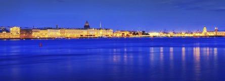 De Nacht van Petersburg Stock Afbeelding