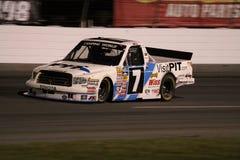 De Nacht van Uitgang 2 van de Reeks ORP van de Vrachtwagen van Justin Lofton NASCAR Royalty-vrije Stock Afbeeldingen