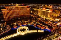 De nacht van Vegas van Las royalty-vrije stock foto's