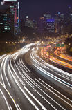 De Nacht Vert van de weg Royalty-vrije Stock Foto