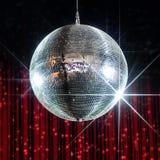 De nachtclub van de discobal royalty-vrije stock afbeeldingen