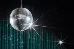 De nachtclub van de discobal stock afbeeldingen