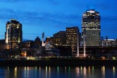 De Nachten van Cincinnati stock foto's