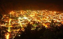 De nachtmening van San Martin royalty-vrije stock afbeeldingen