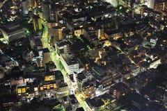 De nachtmening van Tokyo Royalty-vrije Stock Fotografie