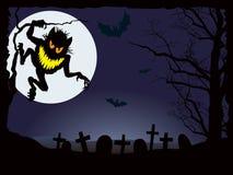 De nachtmerrie van Halloween Royalty-vrije Stock Foto