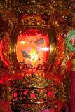 De nachtvakantie van de lantaarn lichte lamp Royalty-vrije Stock Afbeeldingen