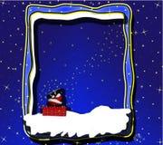 De nachtvooravond van Santas Royalty-vrije Stock Foto