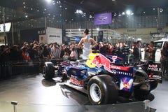 De nadruk van auto toont Royalty-vrije Stock Afbeeldingen