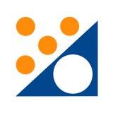 De nadrukgroep van het embleem Stock Afbeelding