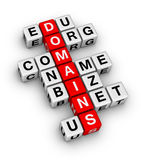 De namen van het domein royalty-vrije illustratie