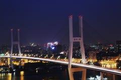 De nanpubrug in Shanghai Stock Fotografie