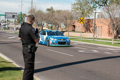 ` de NASCAR s Jimmie Johnson Day en Arizona Photo stock