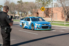 ` de NASCAR s Jimmie Johnson Day en Arizona Photographie stock