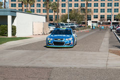 ` de NASCAR s Jimmie Johnson Day en Arizona Photo libre de droits