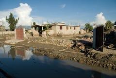 De Nasleep van de orkaan stock foto's