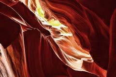 De Natie Arizona van Arizona Navajo van de antilopecanion Stock Afbeelding