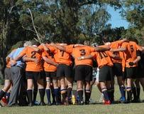 De Natie Zuid-Afrika van het rugby stock fotografie