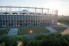 De Nationale Arena van Boekarest Stock Afbeeldingen