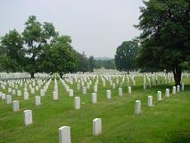 De Nationale Begraafplaats van Arlington Stock Afbeelding
