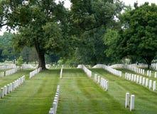 De Nationale Begraafplaats van Arlington Royalty-vrije Stock Fotografie